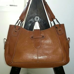 Handbags - Franklin Covey Large Leather Bag 11 x 17 x 5
